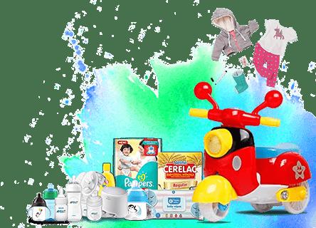 Babies & Toys on zamve