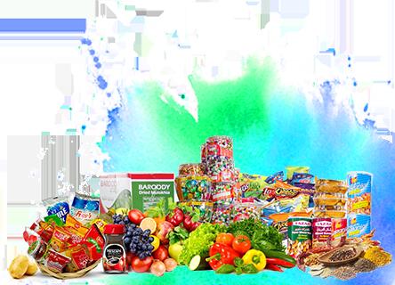 Groceries on zamve