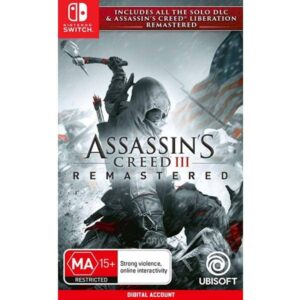 Assassin's Creed 3 Remastered Nintendo Switch Digital game account from zamve.com