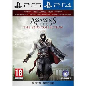 Assassin's Creed The Ezio Collection PS4 PS5 zamve