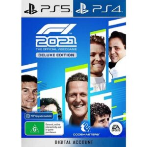 F1 2021 Deluxe Edition PS4 PS5 Game Digital on zamve.com