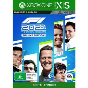 F1 2021 Deluxe Edition Xbox Series X,S Xbox One Game Digital on zamve.com