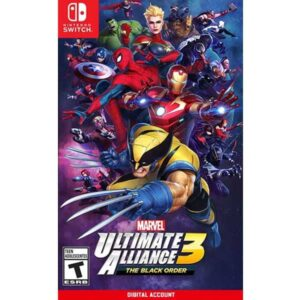 Marvel Ultimate Alliance 3 The Black Order Nintendo Switch Digital game account from zamve.com