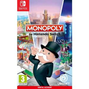 Monopoly for Nintendo Switch Digital game account from zamve.com