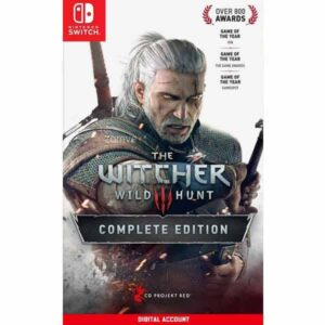 The Witcher 3 Wild Hunt Complete Edition Nintendo Switch Digital game account from zamve.com