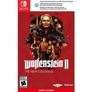 Wolfenstein 2 The New Colossus Nintendo Switch Digital game account from zamve.com