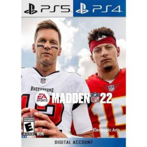Madden NFL 22 PS4 PS5 digital account buy from zamve